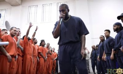 Kanye West Concert in Jail | WATCH: Kanye West Brings Inmates and Guards to Tears During Surprise Gospel Concert at Texas Jail | Featured