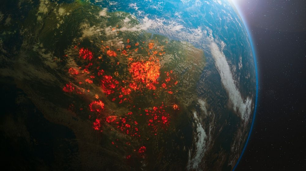 Amazon on fire view on space | The Amazon is a Matter of Life and Death for All of Us: We Must Fight For it | Featured