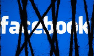 Facebook Logo with with black ties | Facebook to Tackle Efforts to 'Interfere' with 2020 US Census | Featured