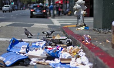garbages on the street of San Francisco | San Francisco Official in Charge of Cleaning up City's Filthy Streets Arrested | Featured
