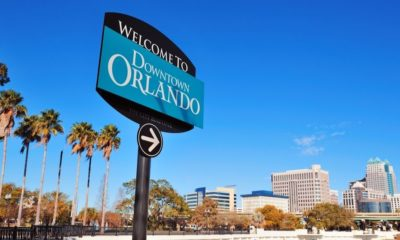 Orlando Downtown Welcome Sign with Tropical Scene | Real Estate Expert Says Smaller U.S. Cities Are Becoming Real Estate Hotspots | Featured