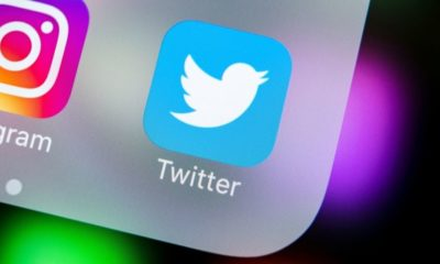 """Social Media Icon on Apple iPhone X 