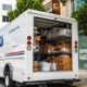 USPS Delivery Van   Truth on Trump and the Post Office   Featured