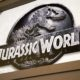 """Jurassic World logo in Jurassic Park 