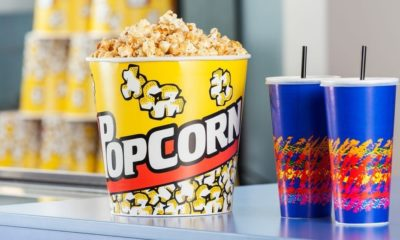Popcorn Bucket with Cold Drinks | San Francisco Movie Theaters Remain Closed Due to Ban on Concession Sales | Featured