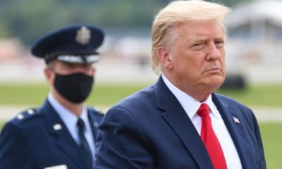 President Donald Trump walks to The Beast Limousine | President Donald Trump Doing Well at Walter Reed, says 'I feel like I could walk out of here today,' Doctors Report | Featured