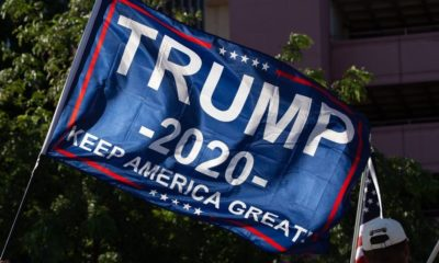 Trump 2020 Flag   YouTuber Flies to Arizona to Make His Vote for Trump Count   Featured