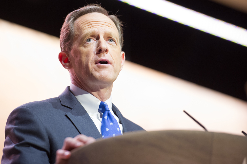 Senator Pat Toomey speaking at the CPAC in National Harbor, MD-Sen. Pat Toomey Calls on Trump to Begin Cooperating with Biden's Transition Team-ss-featured