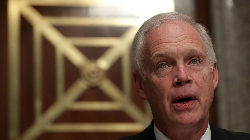 Senator Ron Johnson-GOP Senator Blocks Second Round of Stimulus Checks -ss-Featured