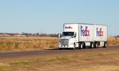 A FedEx Truck-FedEx Ready to Work with New Biden Policies-ss-Featured