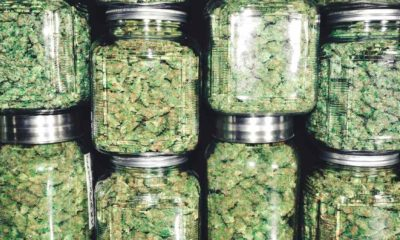 Marijuana Buds in Glass Jar Stack-New Jersey Decriminalizes-ss-featured