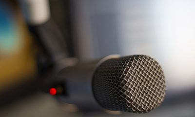 A microphone-Rush Limbaugh Lives On- Syndicators Keep Commentator's Voice Alive on Radio-ss-Featured