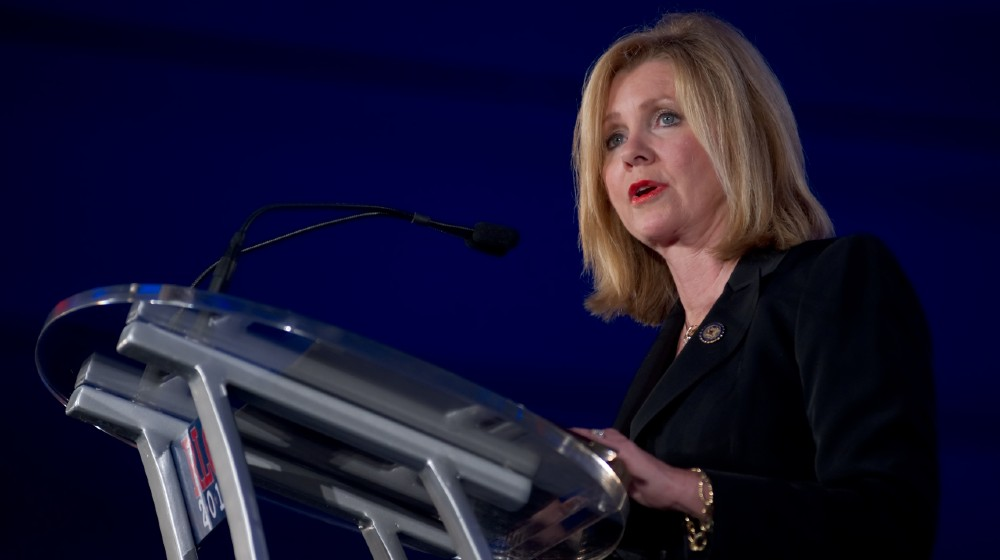 Congressman Marsha Blackburn of Tennessee addresses the Republican Leadership Conference-Border Surges Act-ss-featured
