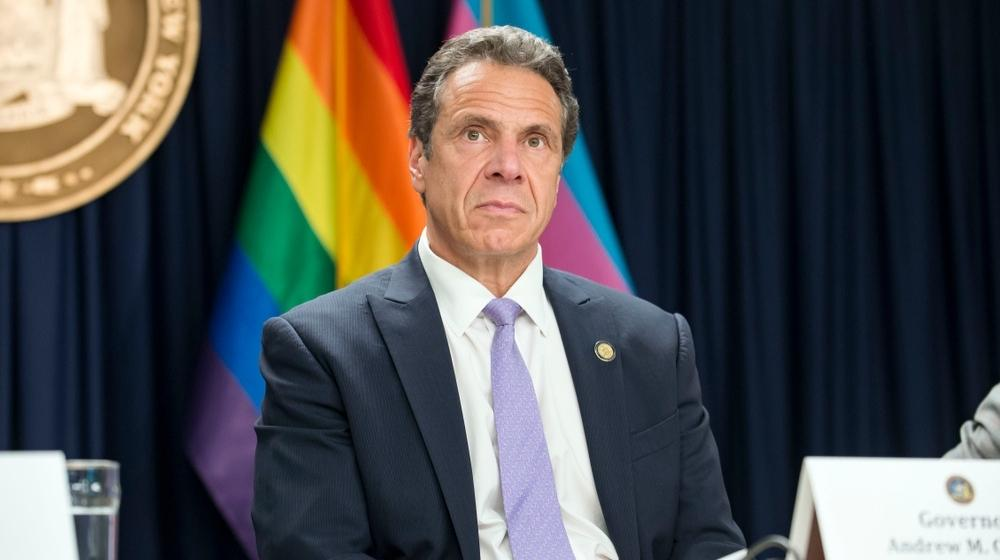 New York Governor Andrew Cuomo-'Resign Now!' Billboard Targets Cuomo after Recent Sexual Harassment Accusations-ss-Featured
