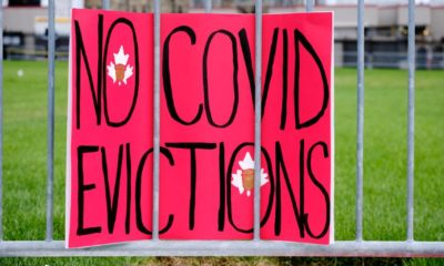 Protesters join ACORN Canada calling for extension of Ontario rent forgiveness and eviction moratorium-Eviction Moratorium-ss-featured