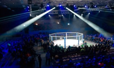 Fight Octagon in the final competition MMA. Fighters come to compete in the cell, resulting in punching, kicking and wrestling | Tired of Woke Sports? Try the UFC Instead | Featured