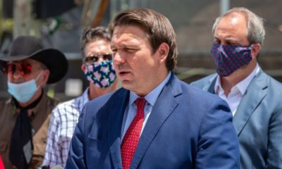Florida Governor Ron DeSantis-Florida Fights Back Set to Ban Tech Companies From 'De-platforming' Political Candidates -ss-Featured