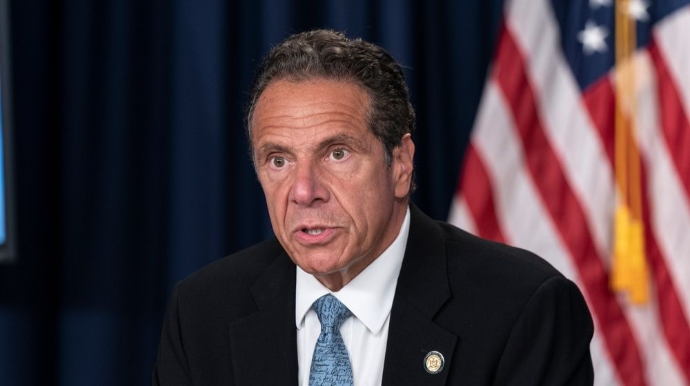 New York Governor Andrew Cuomo-Biden Puts Scandal Stricken Andrew Cuomo in Charge of COVID-19 Conference Calls-ss-Featured