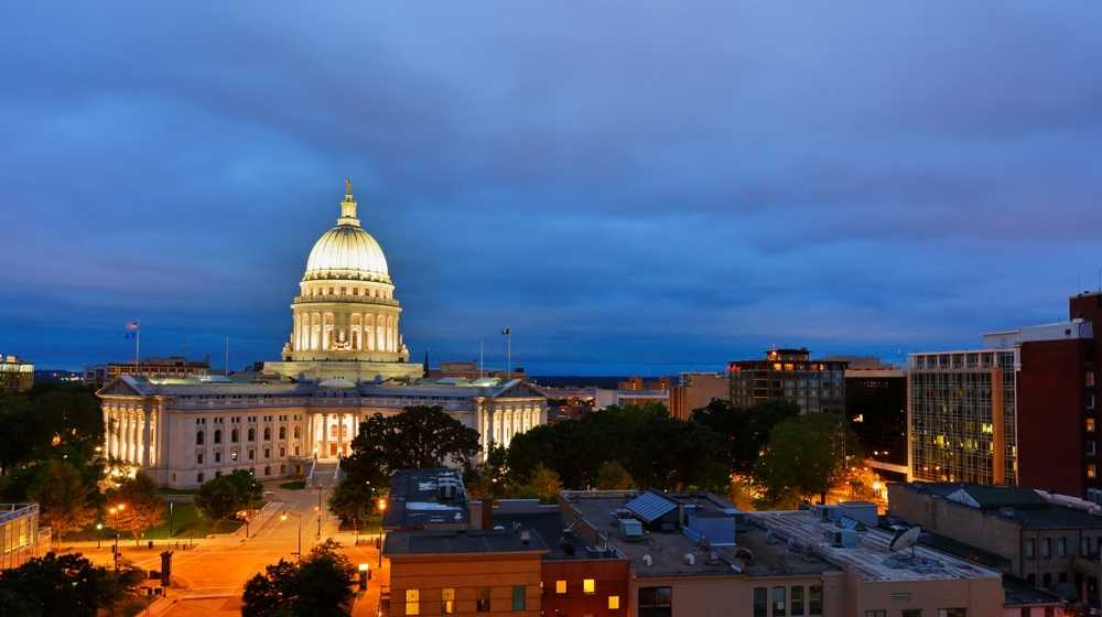 Wisconsin state capital-Wisconsin Strikes Down Mask Mandate as Invalid as It Should Be-ss-Featured