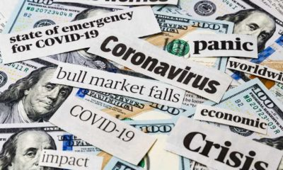 Coronavirus, Covid-19 news headlines on United States of America 100 dollar bills | 2020: An Historical Year Which We Must Learn From! | Featured