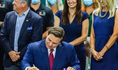 DeSantis Signs Transgender Girl Sports Ban to Start off Pride Month in Florida-ss-Featured