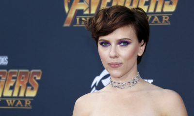 Scarlett Johansson at the premiere of Disney and Marvel's 'Avengers | Scarlett Johansson Sues Disney Over 'Black Widow' Streaming | featured