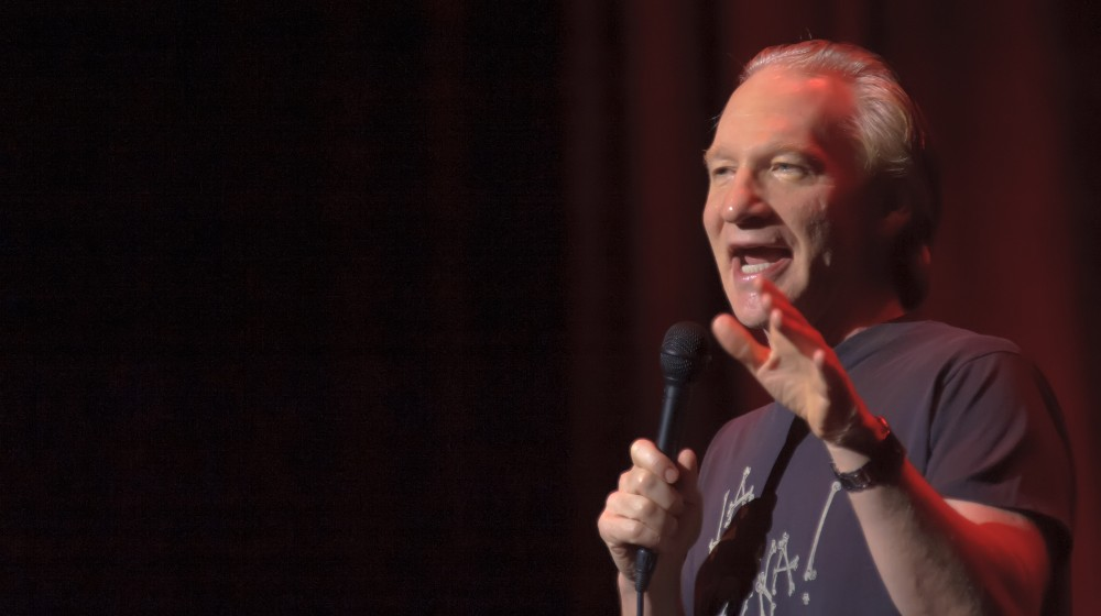Bill Maher performs at Sacramento Convention Center in Sacramento | Bill Maher Denounces the NFL's Black National Anthem | Featured