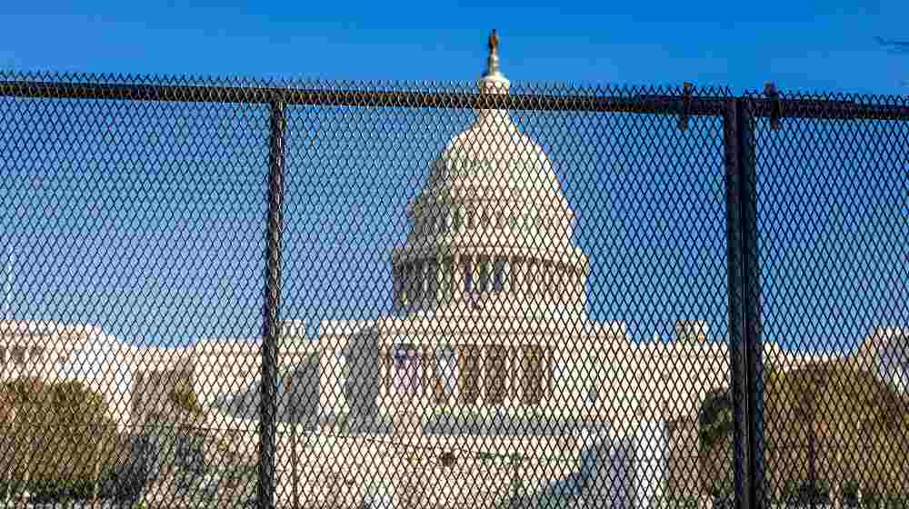New security and fencing in place at the Nation's Capitol after the building was stormed by Trump-supporting rioters | Man from Greer arraigned in connection to US Capitol attack incident | featured