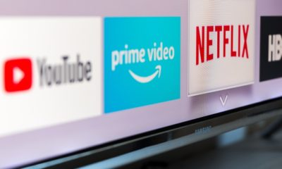 Samsung smart TV with video streaming apps YouTube, Amazon Prime Video, Netflix and HBO   Netflix, Other Streaming Services Win Big At Emmy Awards   featured
