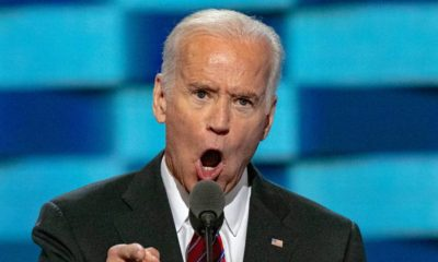 Vice President Joseph Biden delivers his speech from at the podium | Biden Wages War on Abbott and DeSantis Over COVID-19 | featured