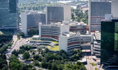 The United Nations Building in Vienna with the International Atomic Energy Agency IAEA | We must return quickly to the Vienna nuclear talks with Iran | featured