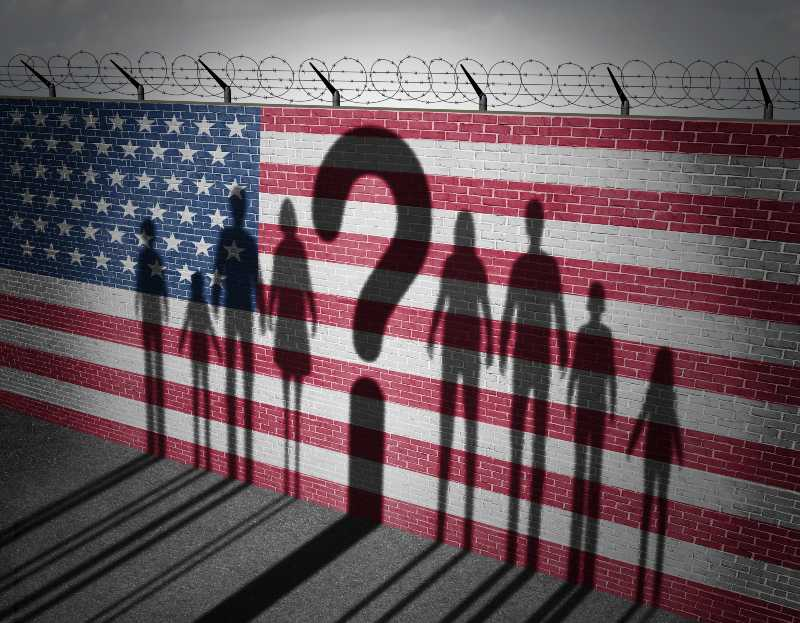 United States refugee question and immigration government policy as extreme vetting for banned newcomers in America-CNN 5 Things